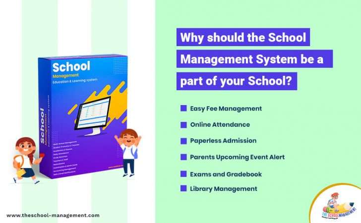 Why Should school management System Part of your school