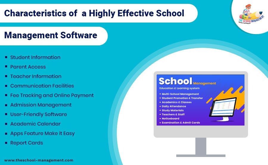 Characteristics of a Highly Effective School Management Software